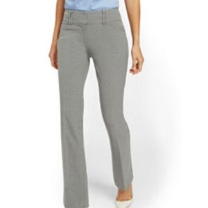 7th Ave NYC Suiting Collection Gray Dress Pant
